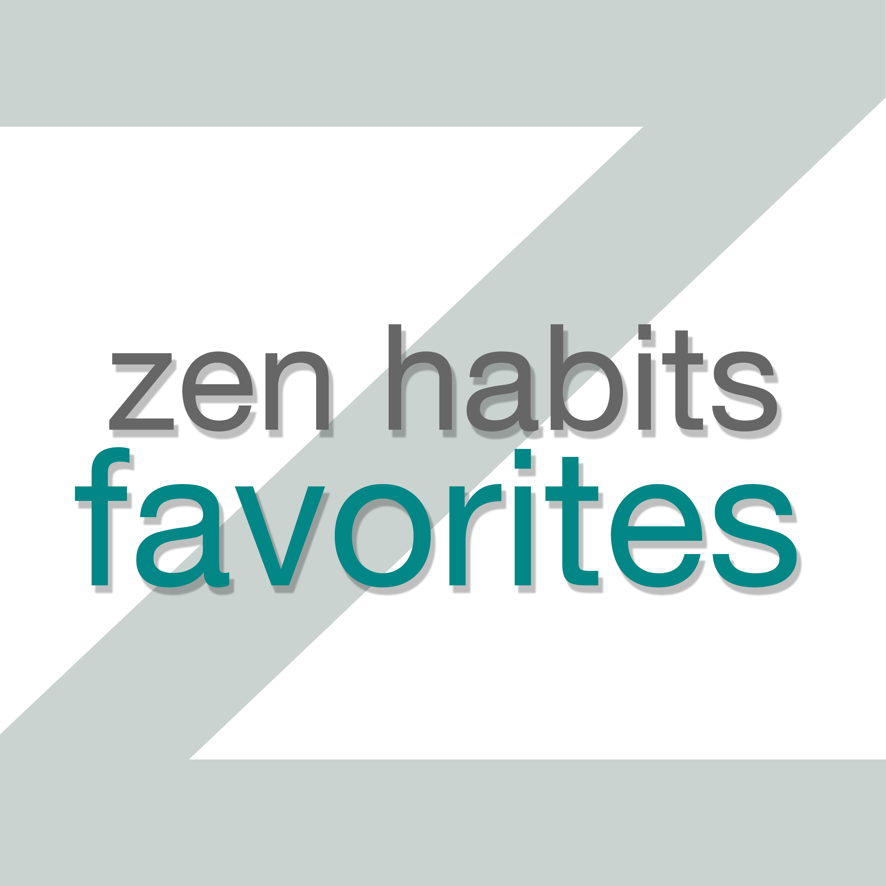 Zen Habits Favorites